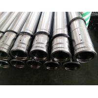 Precision ST52 Hollow Round Bar Hard Chrome Plated Rod Tempered with ISO9001:2008 Manufactures