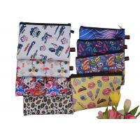 Iridescent Unicorn Zippered Cosmetic Bag Sublimation Printing Neoprene Material Manufactures