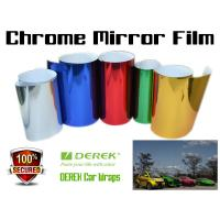 Chrome Mirror Car Wrapping Vinyl Film 3 layers - Chrome Rose Red Manufactures
