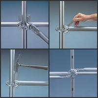 Cheap Heavy Duty Construction Ringlock system Scaffolding be widle used  in construction/Industrial maintaince for sale