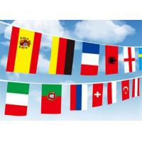 Digital Printing International Flag String High Resolution With Recycled Material Manufactures
