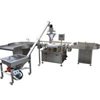 Buy cheap Pepper Auger Automatic Powder Filling Machine , 1 - 500g Dry Syrup Powder from wholesalers