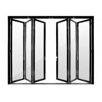 Aluminum door adjustment folding door accessories 3 panel aluminum folding door Manufactures
