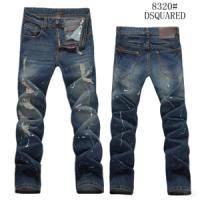 China Branded Dsquared Jeans for Men Straight Pants Classic Style on sale