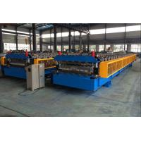 5T Roof Panel Double Layer Roll Forming Machine 0.3-0.8mm 18 Stations Manufactures