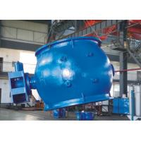AWWA DN2000 Ductile Iron Blue Eccentric Ball Valve For Sewage / Water  / Sea Water System Manufactures