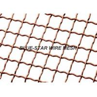 Copper Vibrating Screen Wire Mesh , Heavy Duty Quarry Screen Mesh Rust Resistance Manufactures