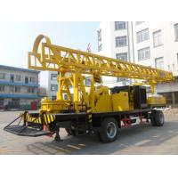 Cheap BZCT400SZ/BZT400SZ/BZCT400/BZT400 400m trailer type diesel rotary water well drilling rig for sale
