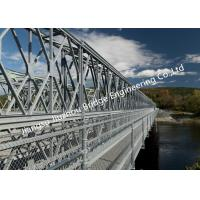 Compact 200 Mabey Military Bailey Bridge , Pontoon Portable Bridge Military with Launching Nose Manufactures