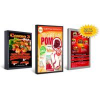Outdoor and indoor large format backlit film printing / Backlit Posters Printing Manufactures
