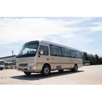 Buy cheap Front Cummins Engine Toyota Costa Bus , 7.7M Toyota Minibus 31 Seats Capacity from wholesalers