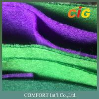 Bright Colors Felt Fabric 200gsm 1.5-2.0mm Thickness 100-200cm Width Manufactures