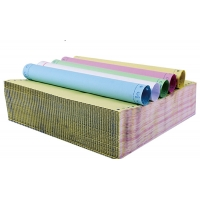 Multiple Color Ncr Carbonless Copy Paper 50gsm / 55gsm Printing Paper Roll