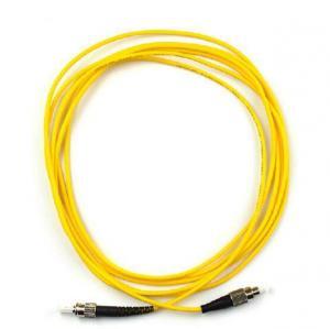 ST-FC Singlemode / Multimode Optical fiber patch cord Simplex / Duxplex OTDR Certicated Manufactures
