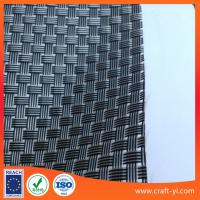black clean 8X8 Textilene mesh weave fabric for outdoor furniture chair