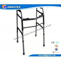 Medline folding walker With Double Buttons Height Adjustable with Optional Castor Manufactures