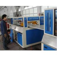 China PVC Plastic Rail Foam Board Machine , PVC Strake Foam Board Extrusion Line on sale