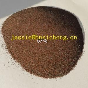 China Garnet Sand 20/30/40/60/80/120 grit for sandblasting/waterjet cutting on sale