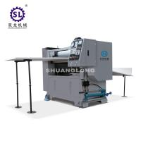 Manual Sheet Feeding Paper Embossing Machine 60m/min for Calendars Manufactures