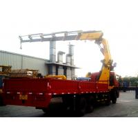 25 Ton Knuckle Boom Truck Mounted Crane Driven By Hydraulic XCMG Manufactures