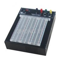Transparent 2390 Points Powered Breadboard ABS Solderless Breadboard Power Manufactures