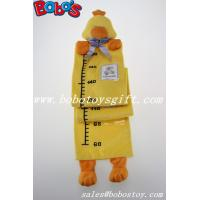 Hang Baby Yellow Duck Height Measurement Plush Animal Growth Chart Manufactures