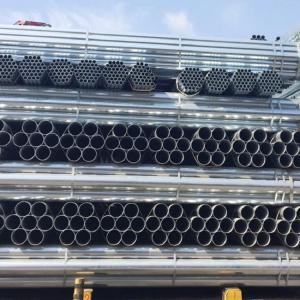 Galvanised steel tube heavy duty class c to BS1387 steel pipe EN10255 Manufactures