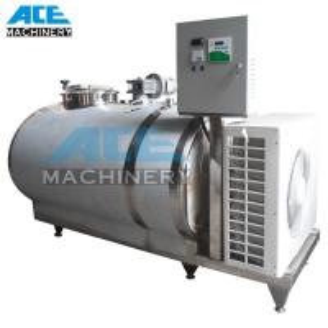 Sanitary 2t Stainless Steel Storage Tank Horizontal Storage Tank (ACE-ZNLG-B7) Manufactures