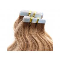 Comb Easily Smooth Double Tape Hair Extensions 100% Unprocessed Long Lasting Manufactures