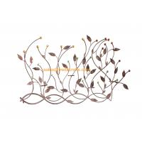 Beautiful Design Metal Leaf  Acrylic Decoratived Wall Art For Home Decor Manufactures