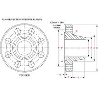 Type 6BX Integral Flanges for 2000 to 20 000 PSI Rated Working Pressure