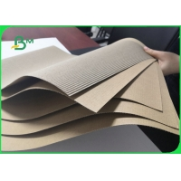 Durable B Flute Brown Corrugated Paper Sheets & Pads 125gsm + 100gsm Manufactures