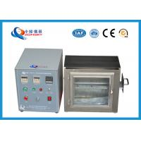 38 MM Flame Height Flammability Testing Equipment For Automobile Interior Material Manufactures