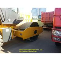 Mechanical Single Drum Vibratory Roller XS183J Road Construction Machinery Manufactures