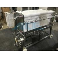 Ace SUS 304 Stainless Steel Precise Frame Filter Press Manufactures