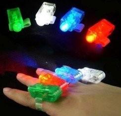 Red, White, Blue, Green Color Laser Finger Beams LED Lights Toy 4 Piece Set Manufactures