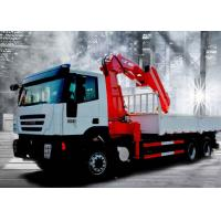 12Ton Mobile 12T Knuckle Boom Truck Mounted Crane For Landscrape Jobs Manufactures