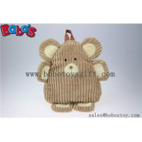 """11.8""""Lovely Brown Bear Children Backpack Bos-1234/30cm Manufactures"""