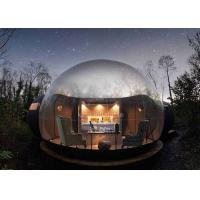 Hotel Clear PVC Inflatable Bubble Tent 5m Diameter With Blower Manufactures