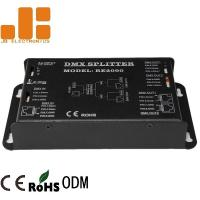 1 In 2 Out DMX Signal Splitter High Voltage Isolation Technology Available Manufactures