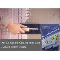Non Toxic Exterior Wall Putty , Harmless Cement Based Render Manufactures