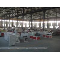 Recycled PVC WPC Foam Board Machine , Conical Twin Screw Extruder Manufactures
