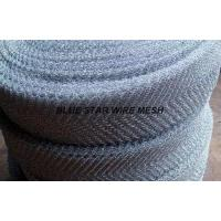 Crimped / Corrugated Knitted Wire Mesh Round / Flat Wire Stainless Steel / Inconel 600 & 601 / Monel 400 Manufactures