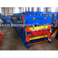 Durable Quality Roofing Sheet Roll Forming Machine for 0.3mm-0.6mm steel
