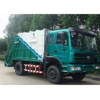 Dongfeng 4x2 6cbm Garbage Compactor Truck DFA1080SJ11D3 Hydraulic Refuse Garbage Truck Manufactures