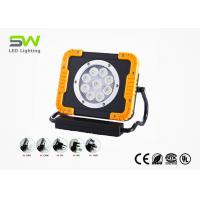 2500 Lumen Rechargeable LED Work Light With Retractable Handle And Rotatable Magnetic Stand Manufactures