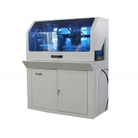 A4 Size Manual Plastic Card Die Cutter PVC card punching machine automatic card punch for ID ID RFID card Manufactures