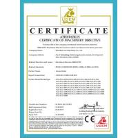 Wenzhou Ace Machienry Co., LTD Certifications