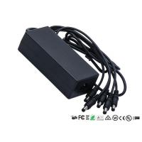 LED Light 12V Power Adapter CE ROHS Certificate With 1 To 5 Splitter Cable Manufactures