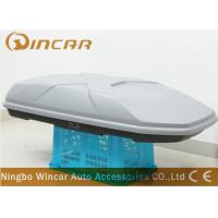 Dual Open 445L Sliver off road Car Roof Boxes in ABS Material , 189*89*36cm Manufactures